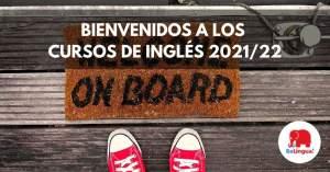 Bienvenidos a los cursos de inglés 202122 Facebook