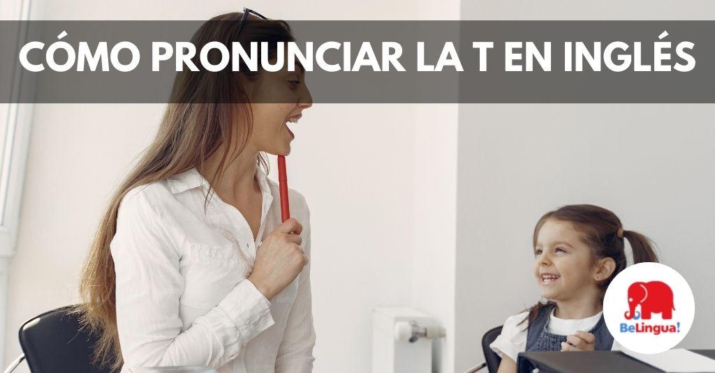 Cómo pronunciar la t en inglés Facebook